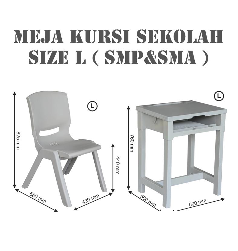 Pabrik Meja Sekolah SMP, SMA